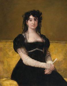 ドナ・アントニア・サラテの肖像