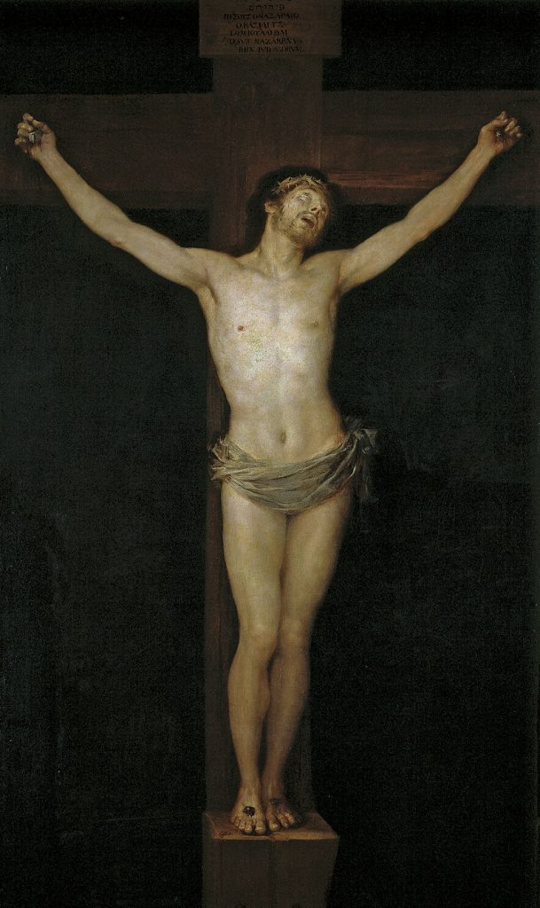 800px-Cristo_en_la_cruz_(Goya)