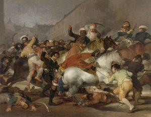 1808年5月2日、エジプト人親衛隊との戦闘