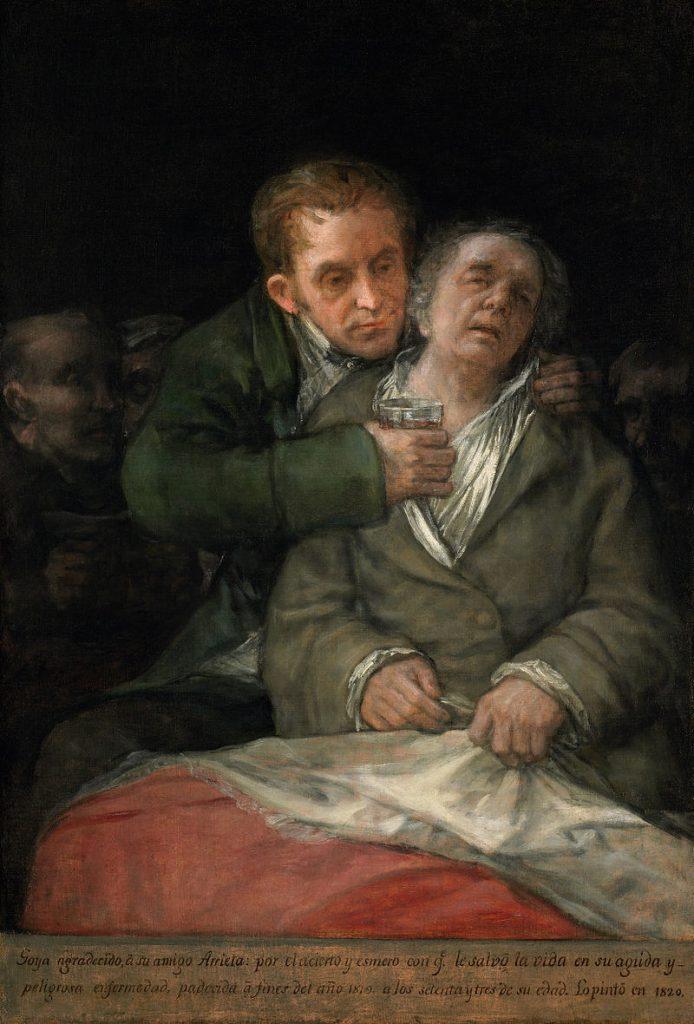 ゴヤとアリエータ医師