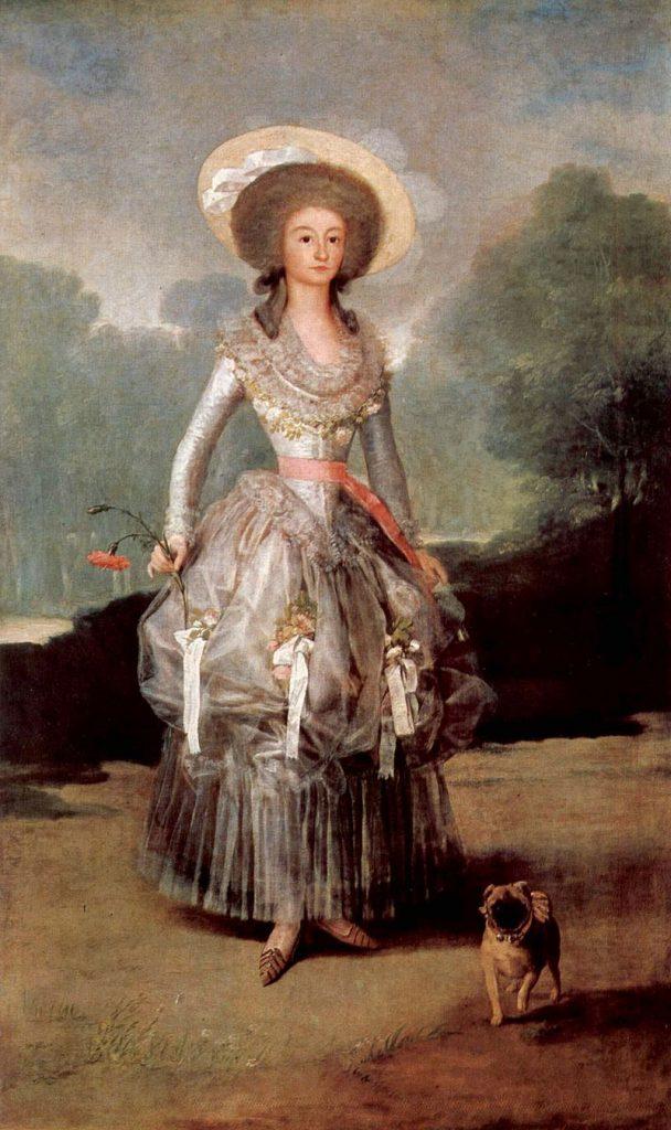 デ・ポンテホス公爵夫人の肖像画