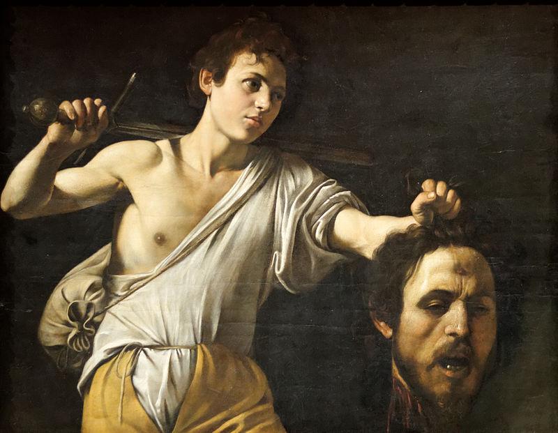 ゴリアテの首をもつダビデ