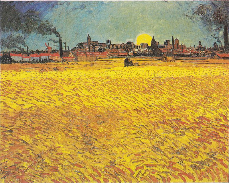 800px-Van_Gogh_-_Weizenfeld_bei_Sonnenuntergang