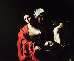 洗礼者ヨハネの首をもつサロメ