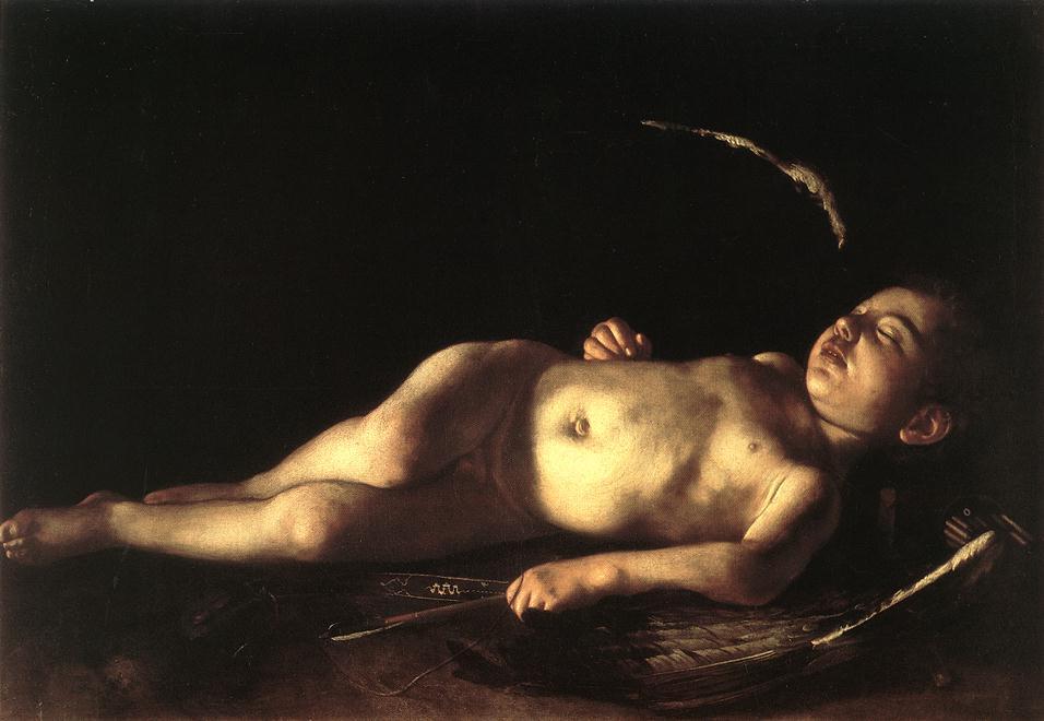 Caravaggio_sleeping_cupid