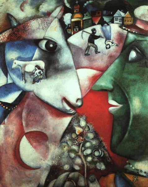 Chagall_IandTheVillage
