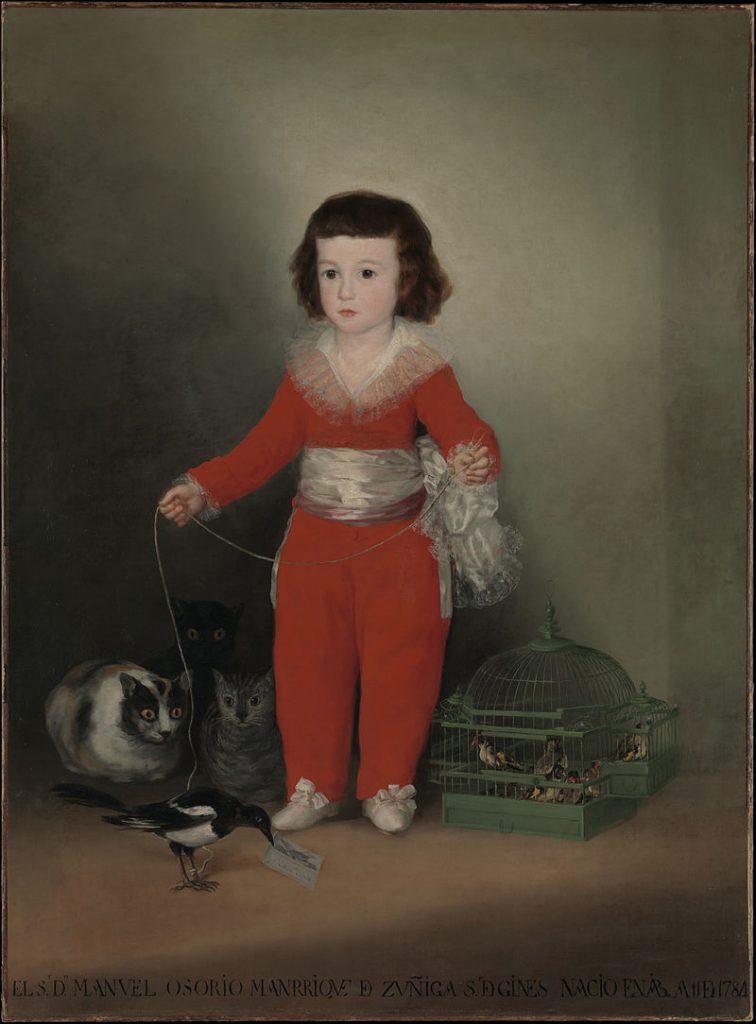 マヌエル・オソーリオ・マンリーケ・デ・スニガの肖像