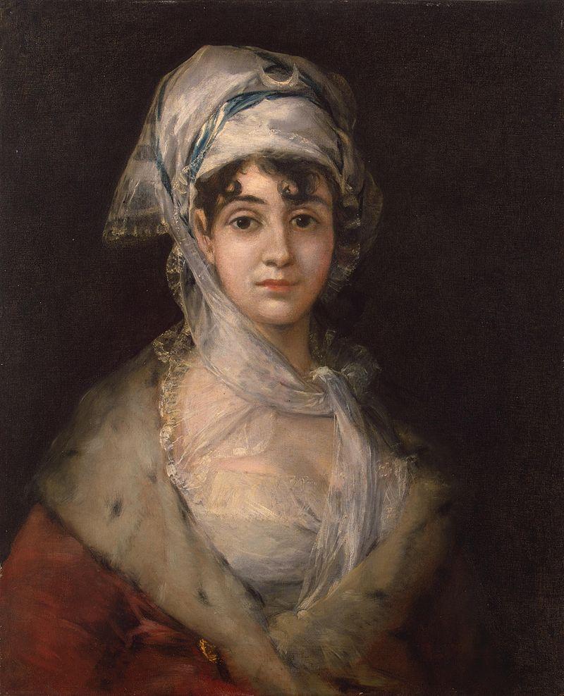 ドニャ・アントニア・サラテの肖像画
