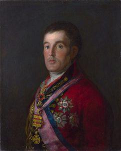 ウェリントン公爵の肖像
