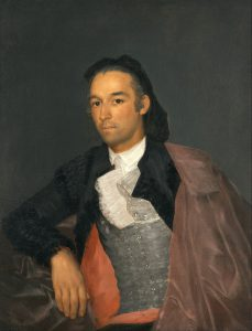 闘牛士ペドロ・ロメロの肖像