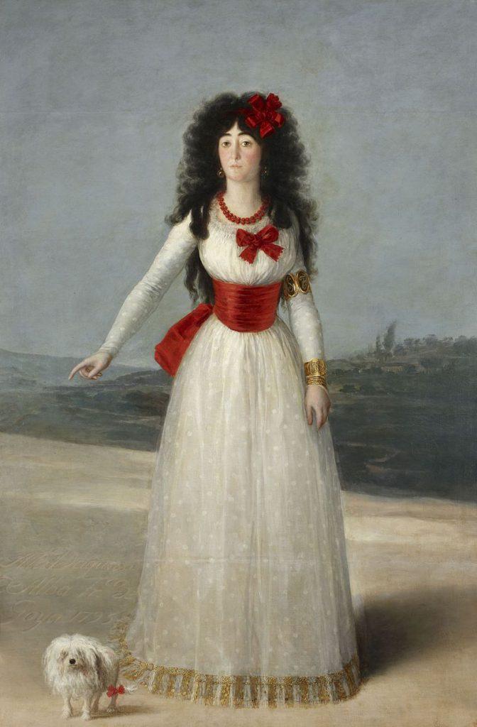 白衣のアルバ女公爵