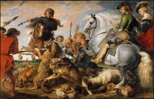 狼と狐狩り