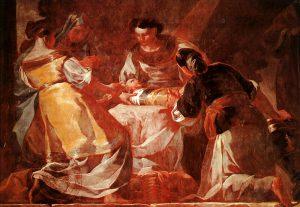 カルトゥハ修道院のフレスコ画群