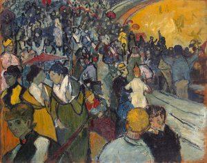 アルルの競技場の観衆