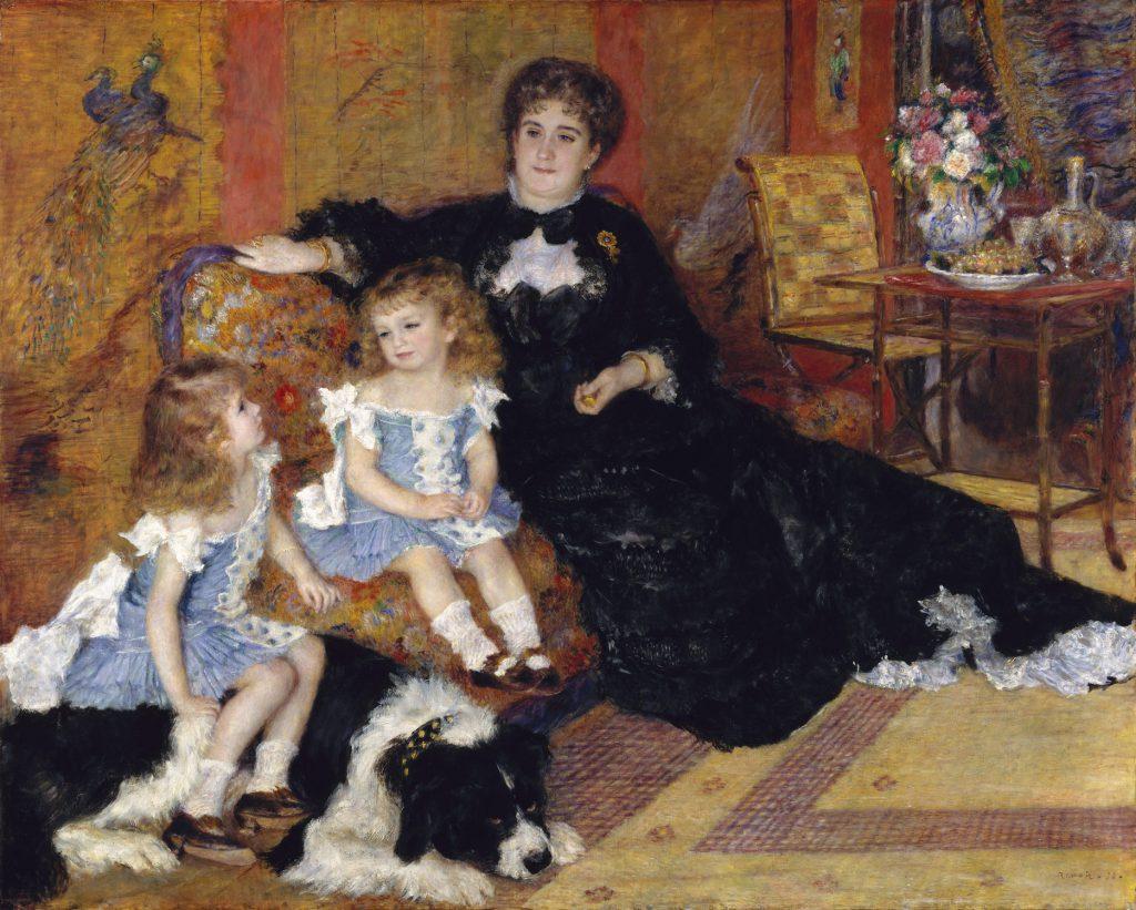 シャルパンティエ夫人とその子供たち