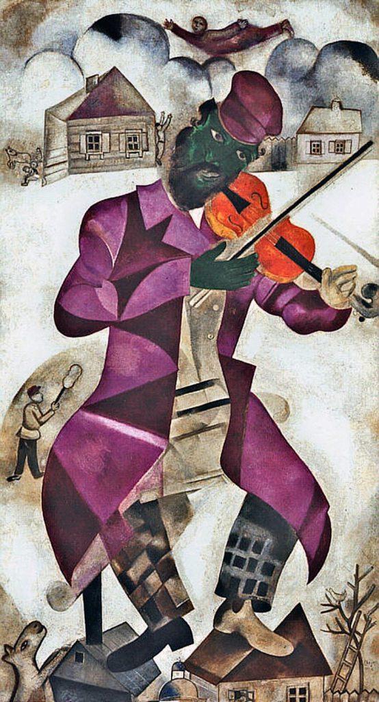 緑色のヴァイオリン弾き