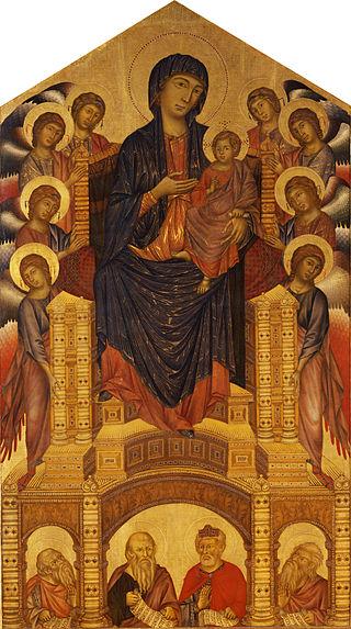 荘厳の聖母(サンタ・トリニタの聖母)