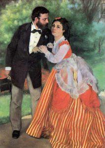 婚約者たち―シスレー夫妻