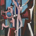 The Three Dancers 1925 Pablo Picasso 1881-1973 Purchased with a special Grant-in-Aid and the Florence Fox Bequest with assistance from the Friends of the Tate Gallery and the Contemporary Art Society 1965 http://www.tate.org.uk/art/work/T00729