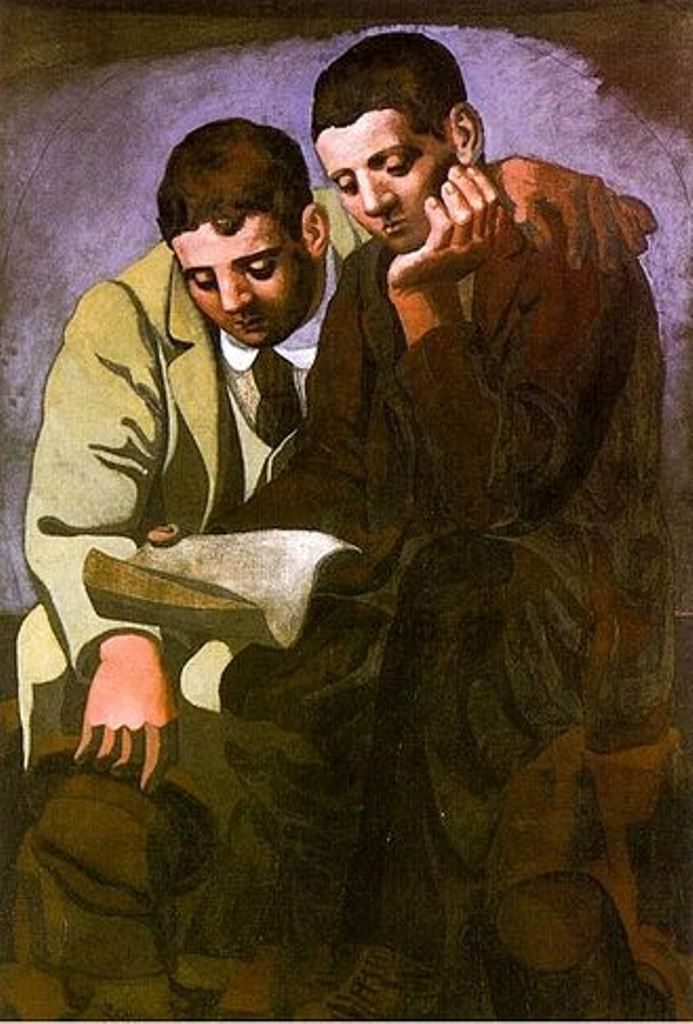 File source: http://en.wikipedia.org/wiki/File:Reading_The_Letter_Picasso_1921_small.jpg