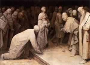 キリストと姦通の女