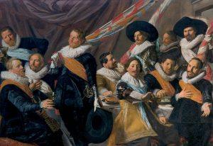 ハールレムの聖ゲオルギウス市民隊幹部の宴会