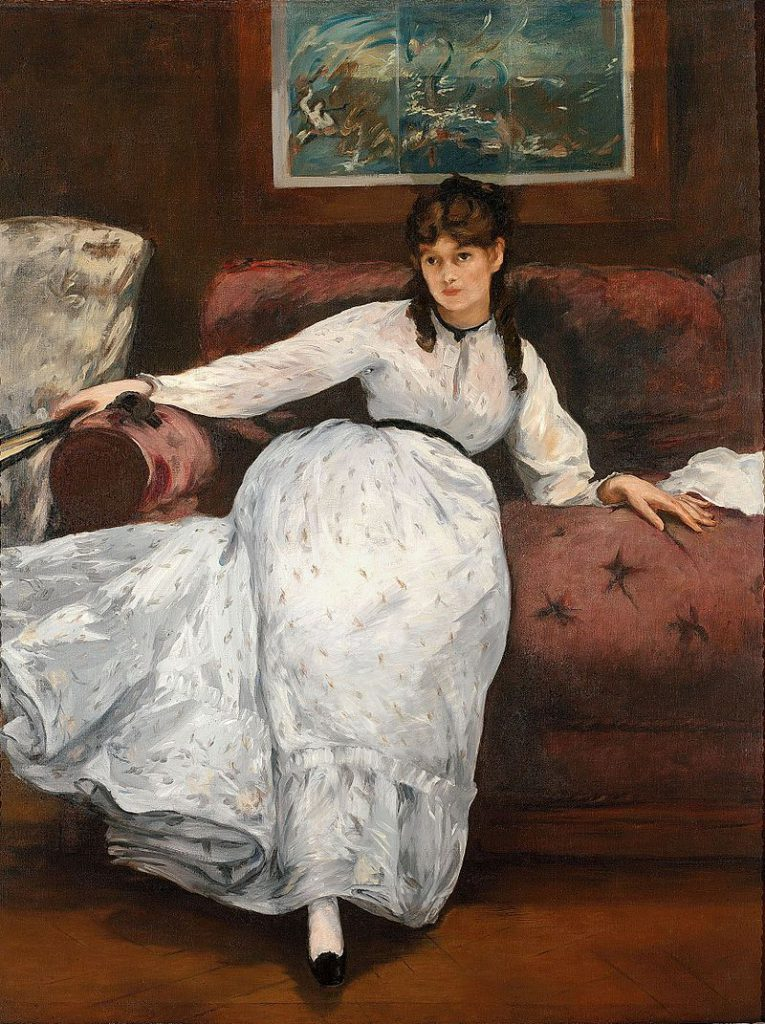 休息(ベルト・モリゾの肖像)
