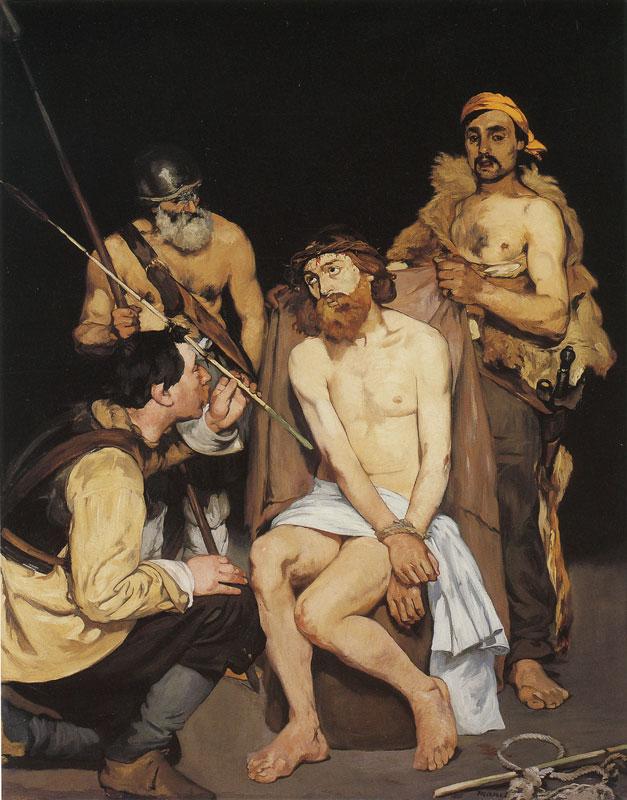 兵士に屈辱されるキリスト