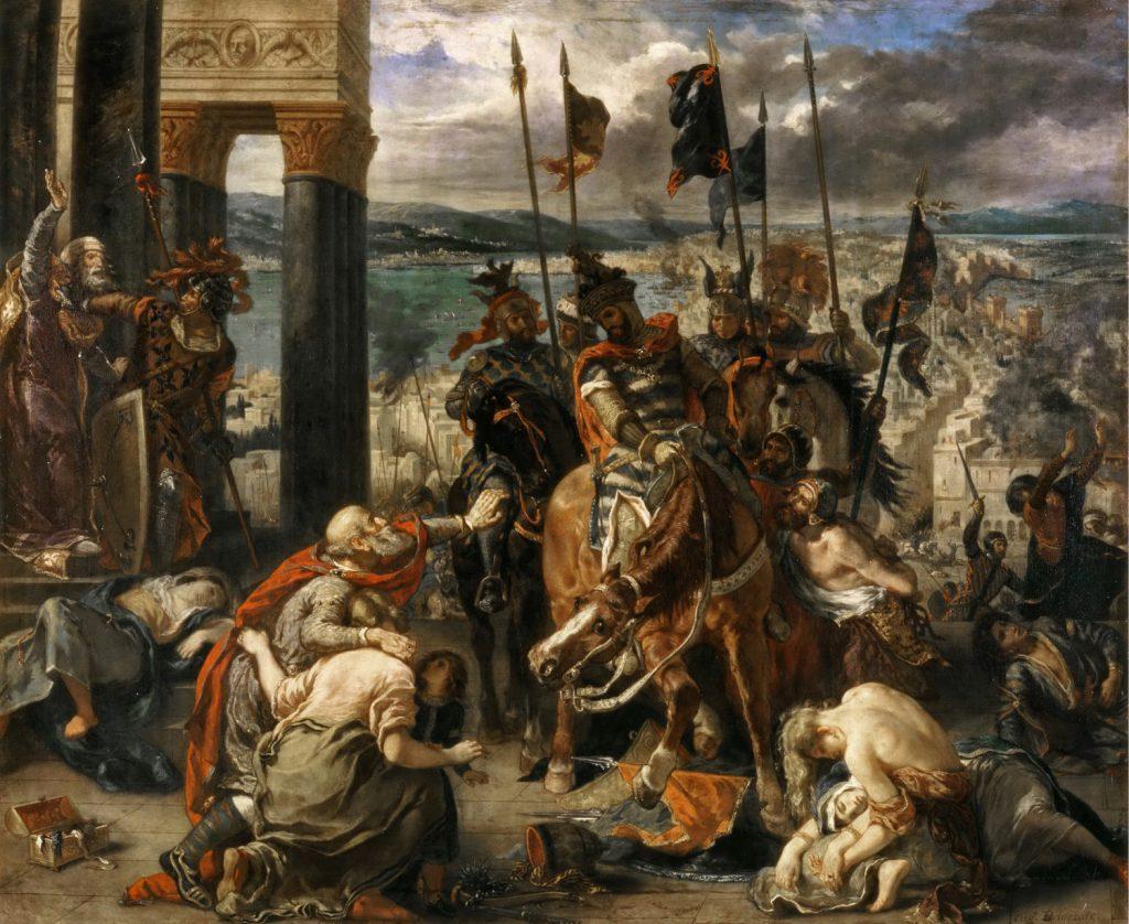 十字軍のコンスタンティノープルへの入城