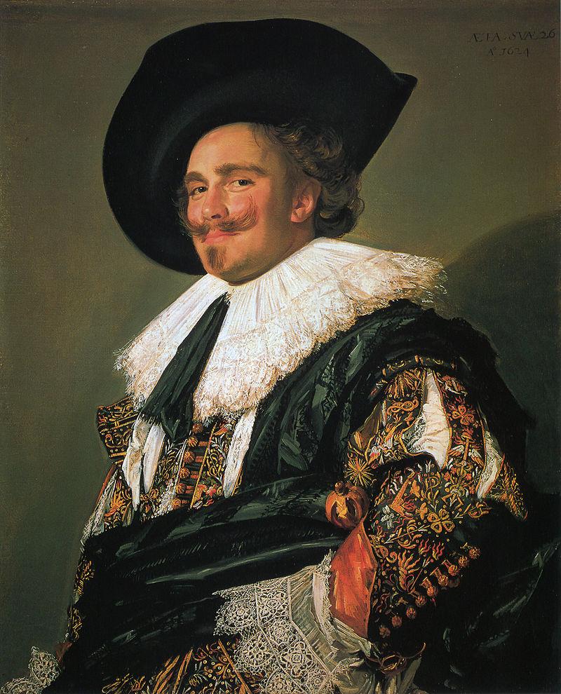 微笑む騎士