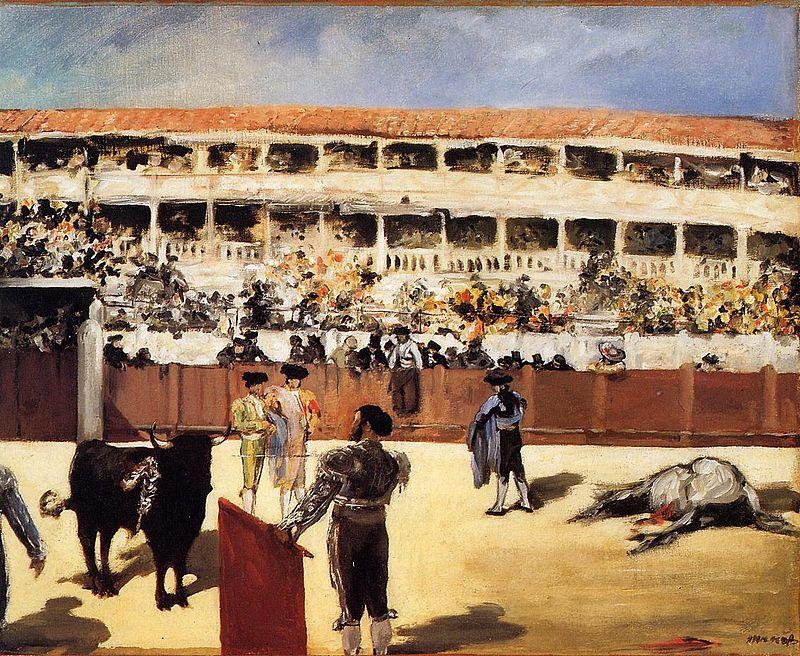 800px-edouard_manet_-_the_bullfight