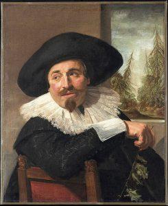 アイザック・アブラハム・マッサの肖像画