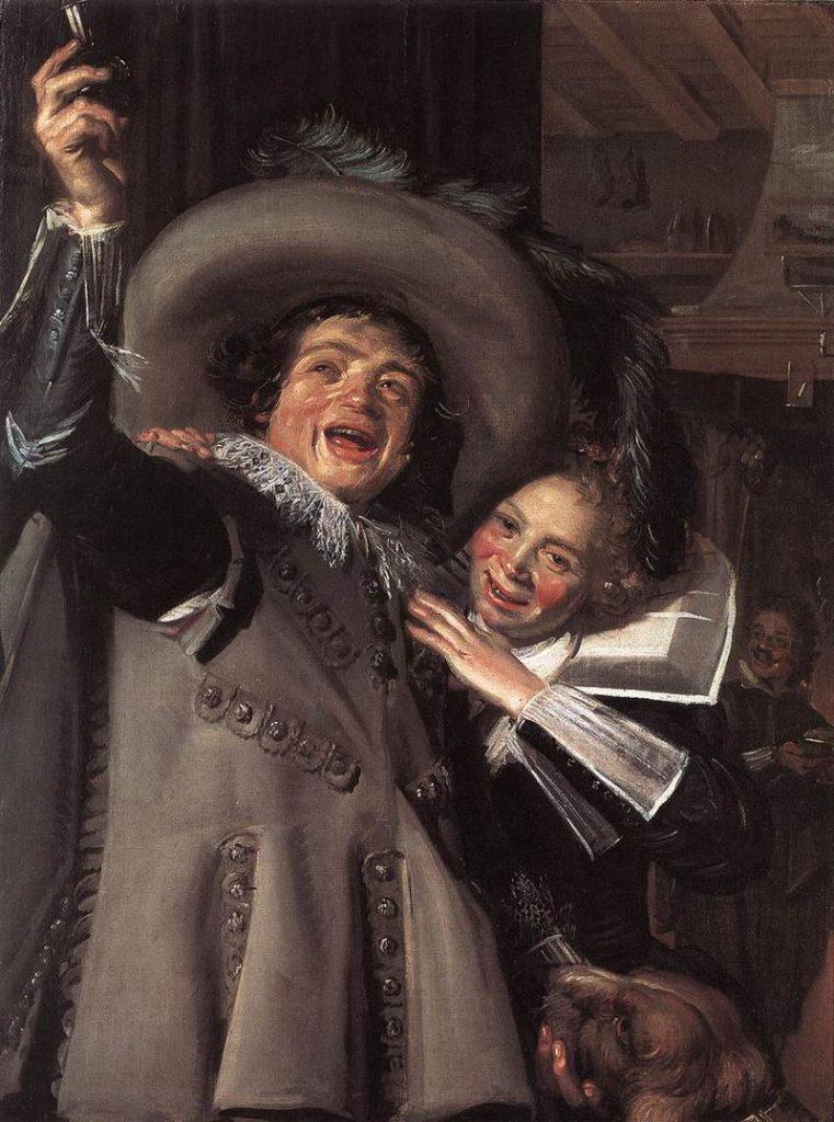 ランプ氏の息子とその恋人の肖像画