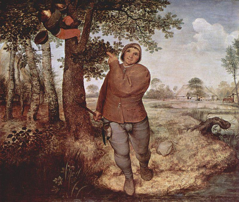 農民と鳥の巣取り