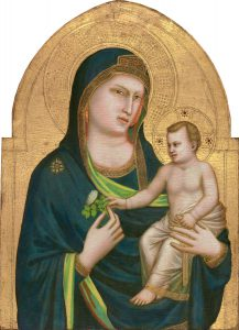 Giotto (Italian, probably 1266 - 1337 ), Madonna and Child, probably 1320/1330, tempera on panel, Samuel H. Kress Collection