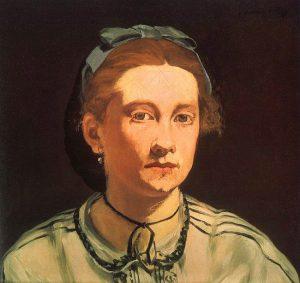 ヴィクトリーヌ・ムーランの肖像