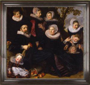 ギスベルト・クラエズ・ファン・キャンペン一家の肖像画