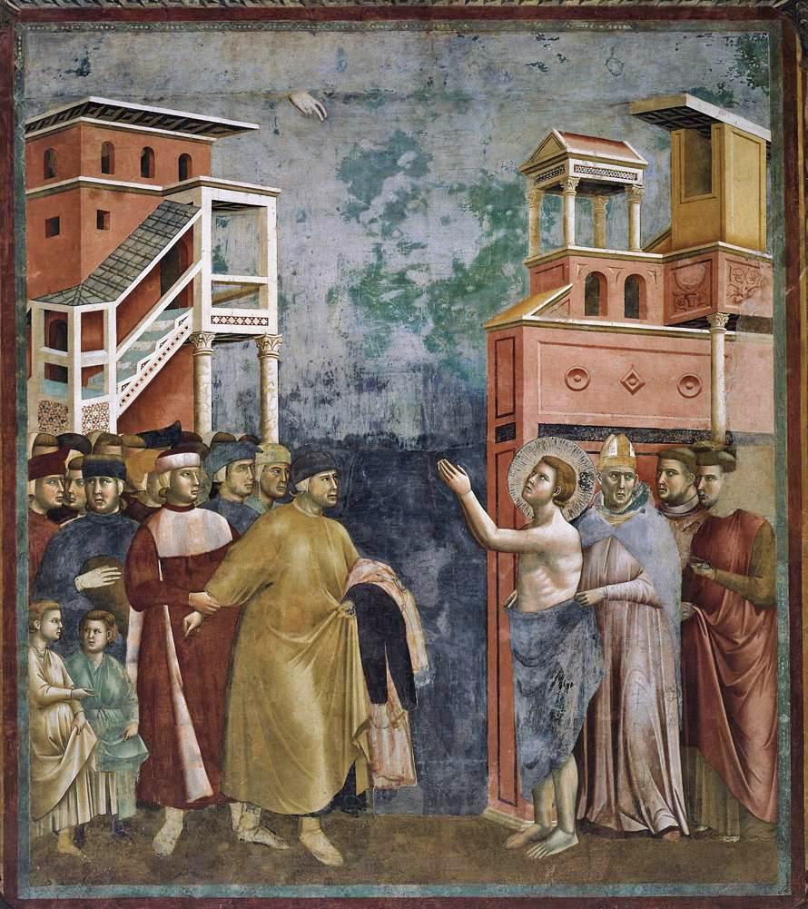 父と決別する聖フランチェスコ