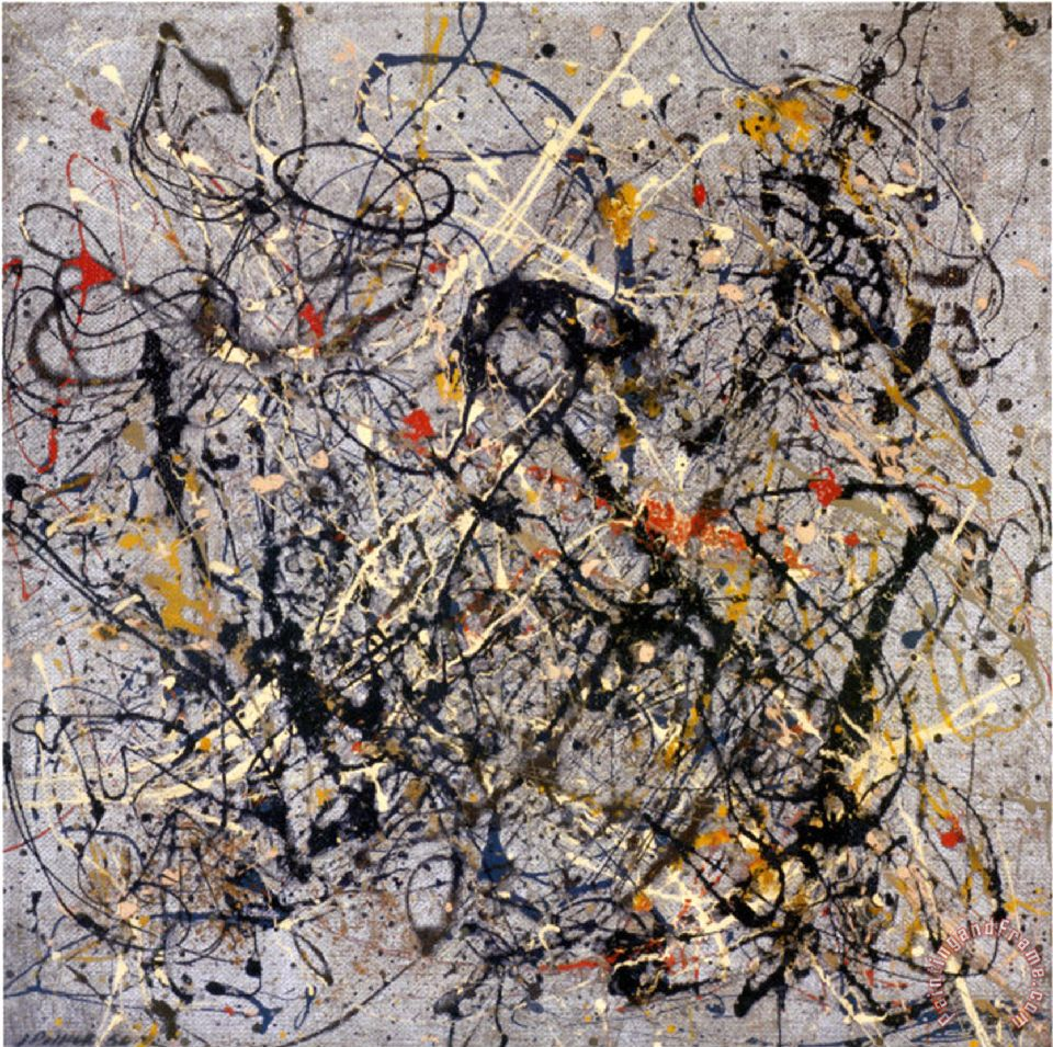 number 18 1950 Painting by Jackson Pollock; number 18 1950 Art Print for sale