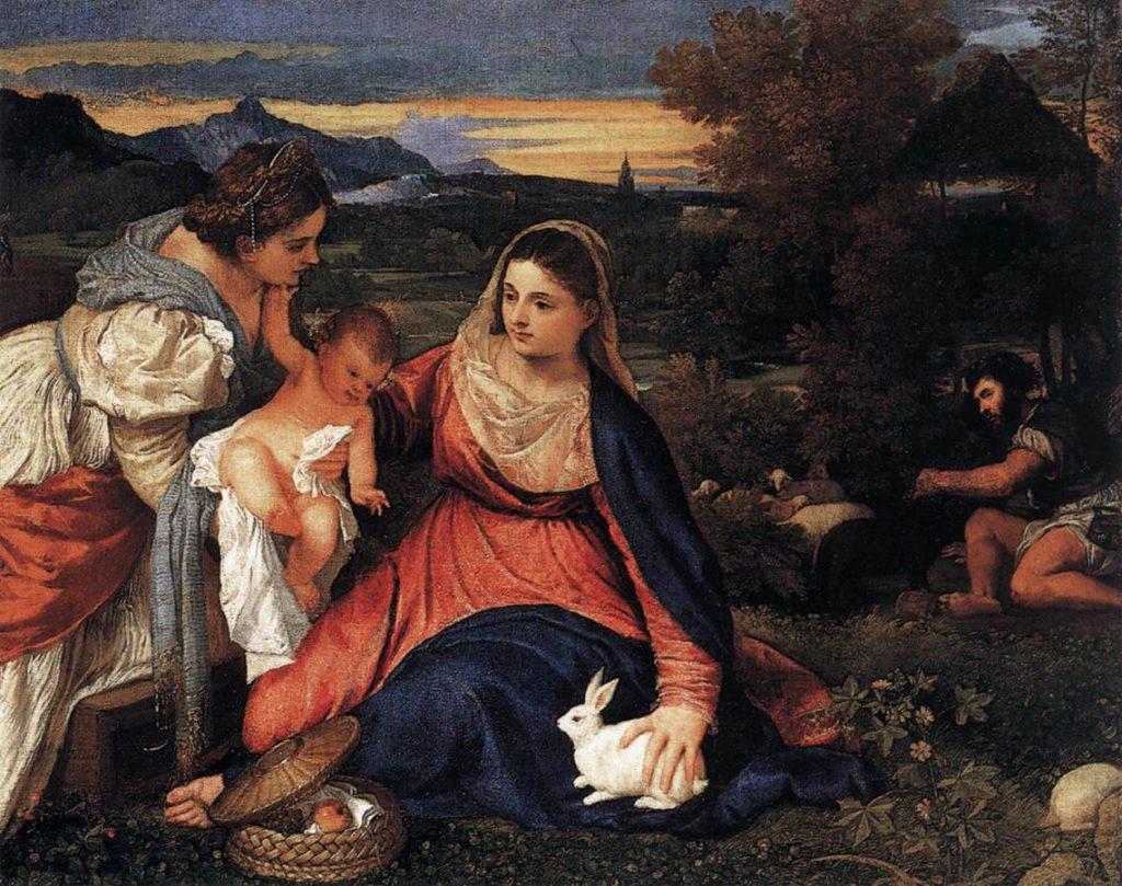 うさぎの聖母