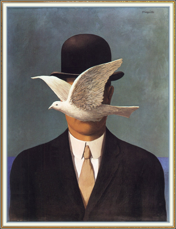 山高帽の男