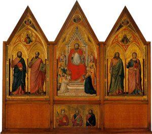 ステファネスキの三連祭壇画