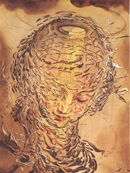 炸裂したラファエル風の頭部