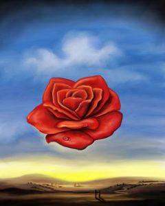 rose-meditative