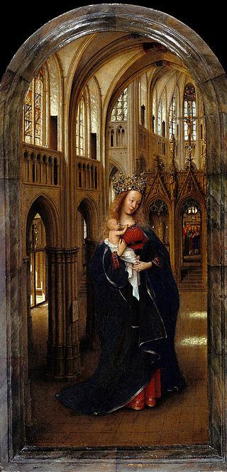 教会の聖母子