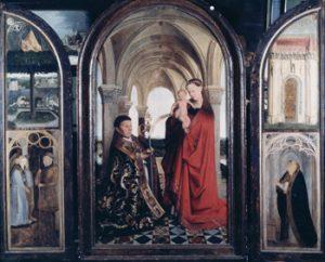 聖母子と寄贈者