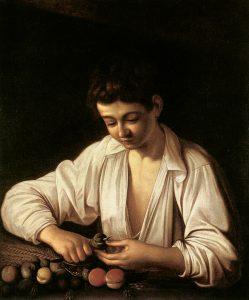 caravaggio_a_boy_peeling_fruit_1593
