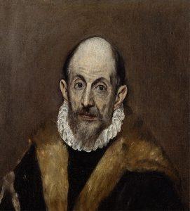 老人の肖像画