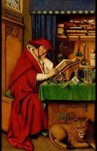 書斎の聖ヒエロニムス