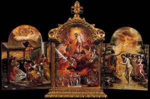 モデナの小型三連祭壇画